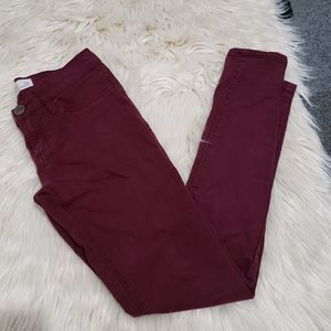 RSQ res-kyoo miami jegging burgundy 3R